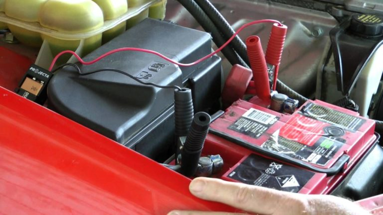 Зарядка аккумулятора автомобиля