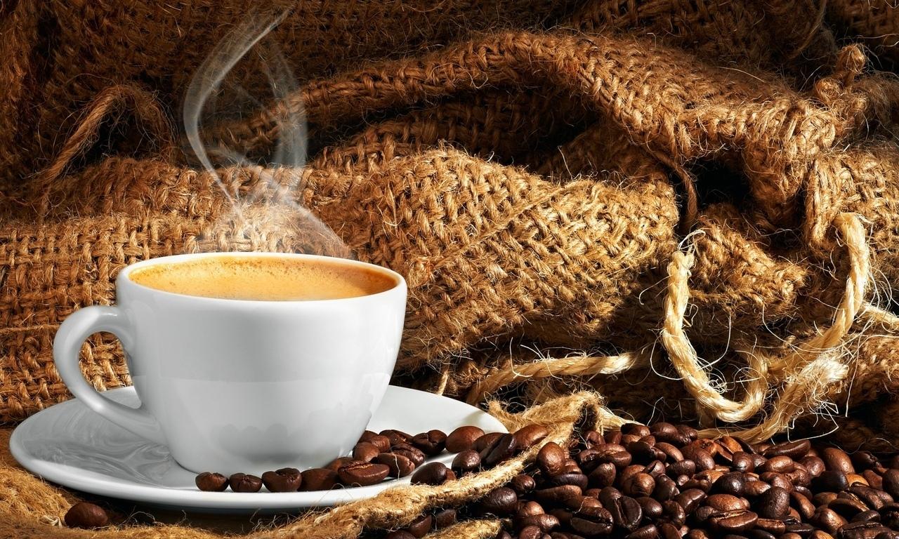 фотографии с кофе большого размера блондинка