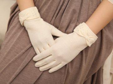 Нашла перчатку