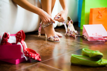Выбор туфель