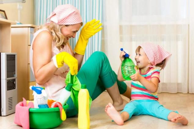 Как научить ребёнка быть аккуратным?
