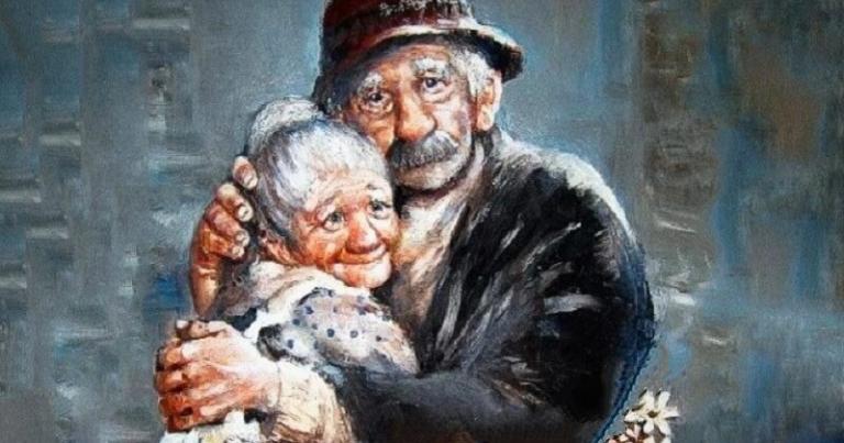 Любовь бабушки к деду