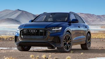 Видеообзор Audi Q8 2019 года