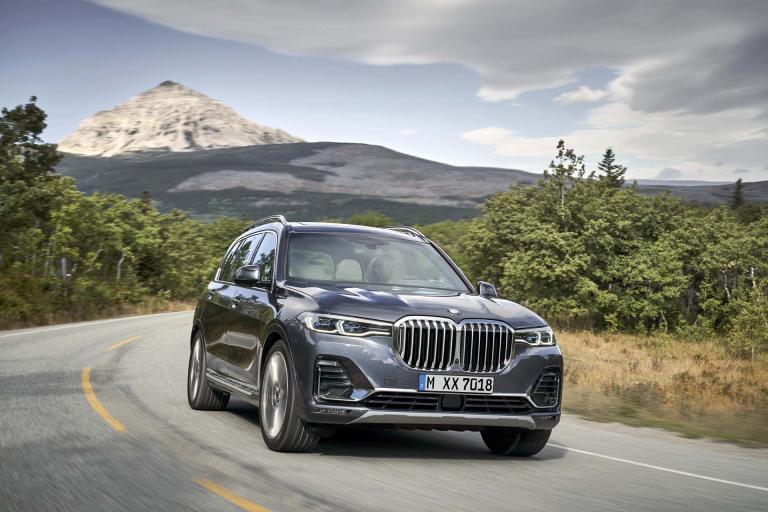 Видеообзор BMW X7 2019 года