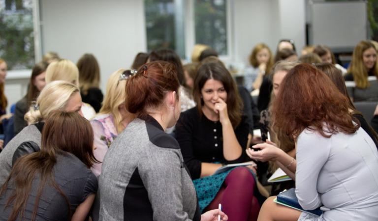 Реакции мужей на женском семинаре