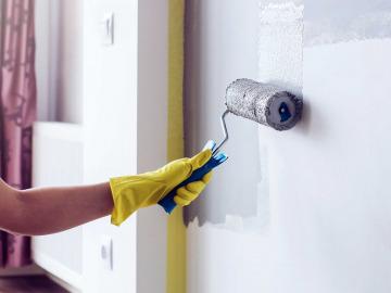 Как правильно покрасить стену?