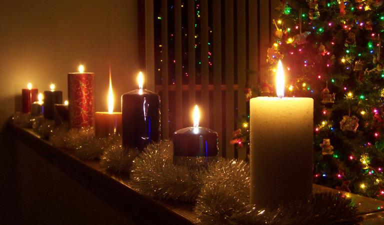 Новый год при свечах