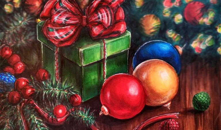 Новогодние подарки в детстве