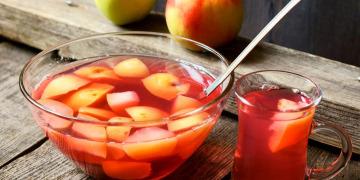 Как варить компот из яблок?