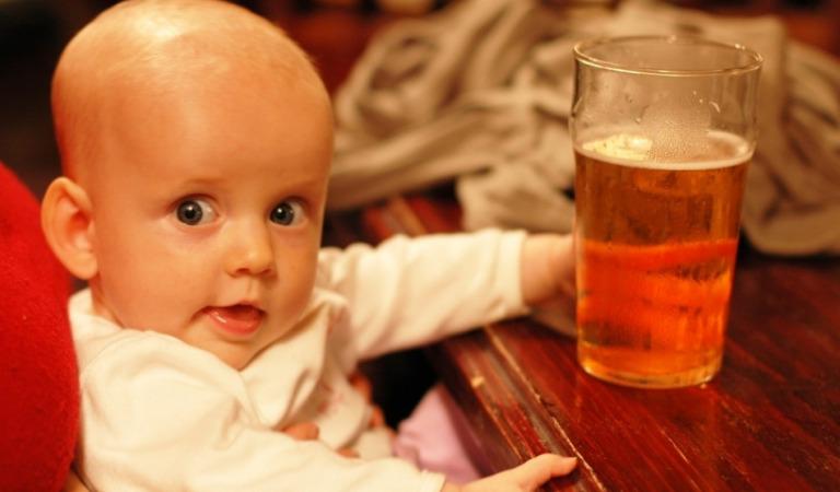 Маленький алкоголик