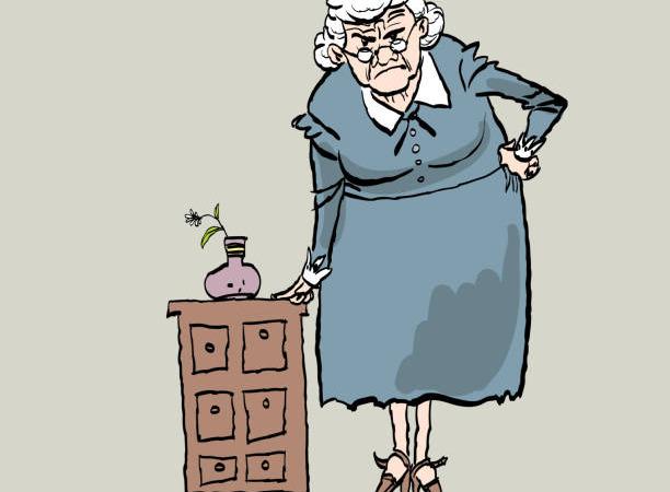 Коварная бабуля